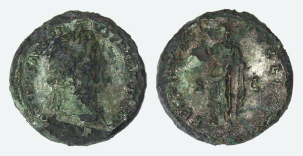 Museen Im Saarland Objekt Römische Münze