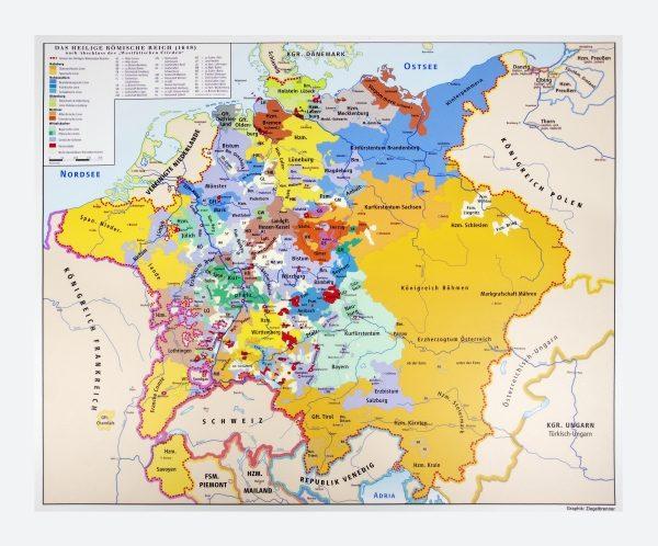 Heiliges Römisches Reich Karte.Museen Im Saarland Objekt Landkarte