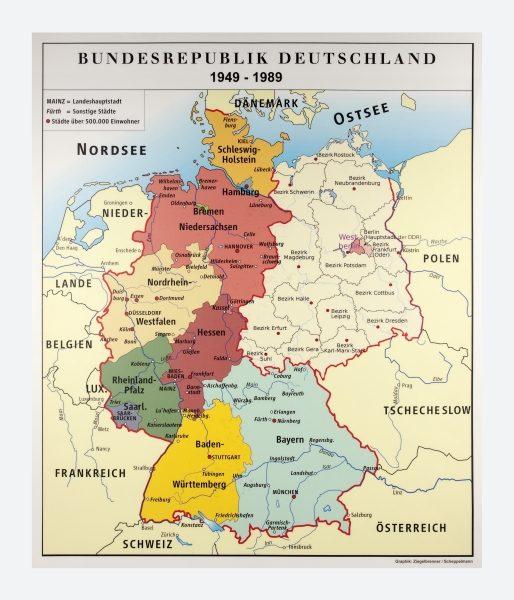deutschland karte 1989 Museen im Saarland   Objekt   Landkarte