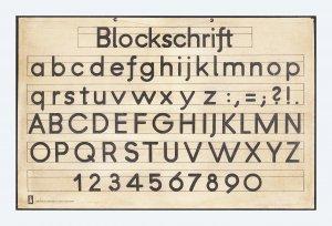 blockschrift