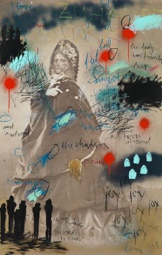 zeigt im Kleinen Schloss: Der Kunstverein zu Gast in der LUDWIGGALERIE. Rebecca Raue - Malerei